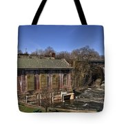 The Great Falls In Paterson Tote Bag
