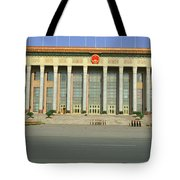The Great Hall Of The People Tote Bag