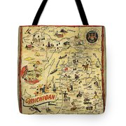 The Great Lakes State Tote Bag