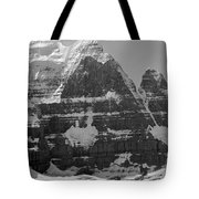 1m3752-bw-the Great North Face Of North Twin Tote Bag