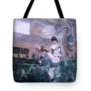 The Great Pitchers Best Hurlers Face Tote Bag