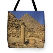 The Great Pyramids Giza Egypt  Tote Bag by Ivan Pendjakov