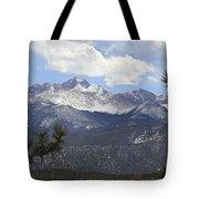 The Rocky Mountains - Colorado Tote Bag by Mike McGlothlen