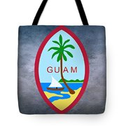 The Great Seal Of Guam Territory Of Usa  Tote Bag