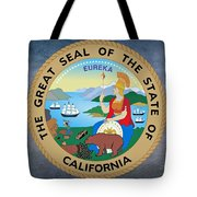 The Great Seal Of The State Of California Tote Bag