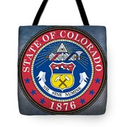 The Great Seal Of The State Of Colorado Tote Bag