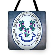 The Great Seal Of The State Of Connecticut Tote Bag