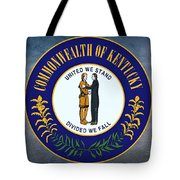 The Great Seal Of The State Of Kentucky  Tote Bag