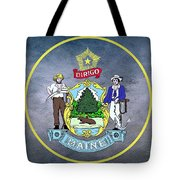 The Great Seal Of The State Of Maine  Tote Bag