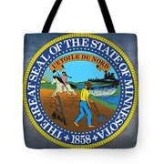 The Great Seal Of The State Of Minnesota Tote Bag