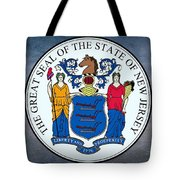 The Great Seal Of The State Of New Jersey Tote Bag
