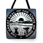 The Great Seal Of The State Of Ohio  Tote Bag