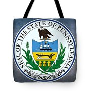 The Great Seal Of The State Of Pennsylvania  Tote Bag