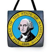 The Great Seal Of The State Of Washington Tote Bag