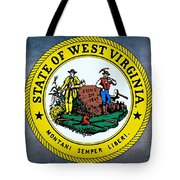 The Great Seal Of The State Of West Virginia Tote Bag