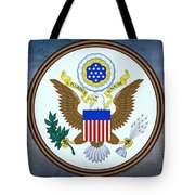 The Great Seal Of The United States  Tote Bag