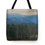 The Great Smoky Mountains From Cades Cove Tote Bag