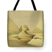 The Great Sphinx And The Pyramids Of Giza Tote Bag