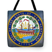 The Great Seal Of The State Of New Hampshire Tote Bag