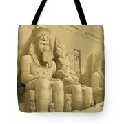The Great Temple Of Abu Simbel Tote Bag