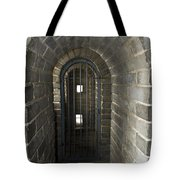 The Great Wall Of China At Badaling - 10 - Inside The Guardhouse  Tote Bag