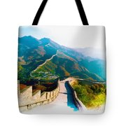The Great Wall Of China Tote Bag