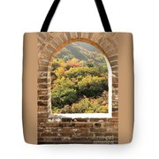 The Great Wall Window Tote Bag