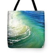 The Great Wave Tote Bag by Laura Fasulo