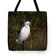 The Great White Heron Tote Bag
