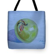 The Green Apple Tote Bag