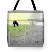 The Long Green Fields Back Home  Tote Bag