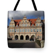 The Green Gate - Gdansk Tote Bag