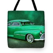 The Green Ghost Tote Bag