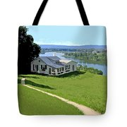 The Green Grass Of Home Tote Bag