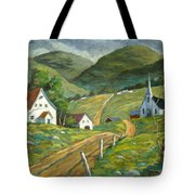 The Green Hills Tote Bag