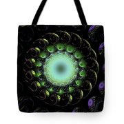 The Green Hole Tote Bag
