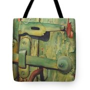 The Green Latch Tote Bag