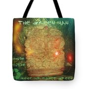 The Green Man - Recycle Tote Bag