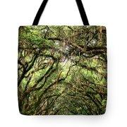 The Green Mile Savannah Ga Tote Bag