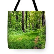 The Green Path Tote Bag