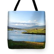 The Green River Tote Bag