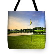 The Green Tote Bag