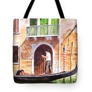 The Green Shutters - Venice Tote Bag