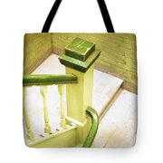 The Green Stairwell Tote Bag