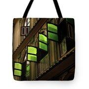 The Green Windows Tote Bag