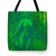The Green Wood Nymph Calls Tote Bag
