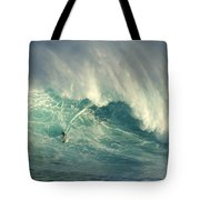 Surfing The Green Zone Tote Bag