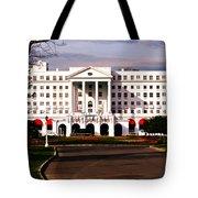 The Greenbrier Resort Tote Bag