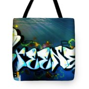 The Greener Side Under Water Tote Bag