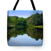 The Greens Of Summer Tote Bag
